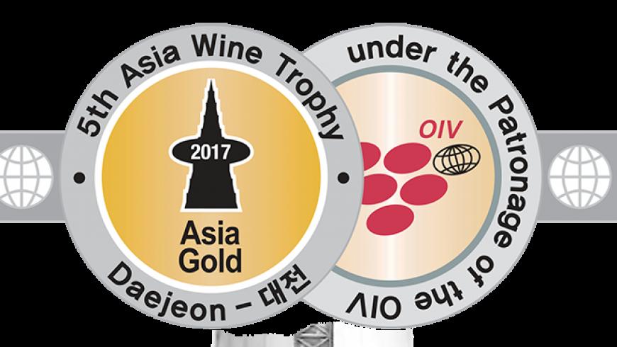 LaVeguilla Crianza 2014 obtiene un Oro en el Asia Wein Trophy