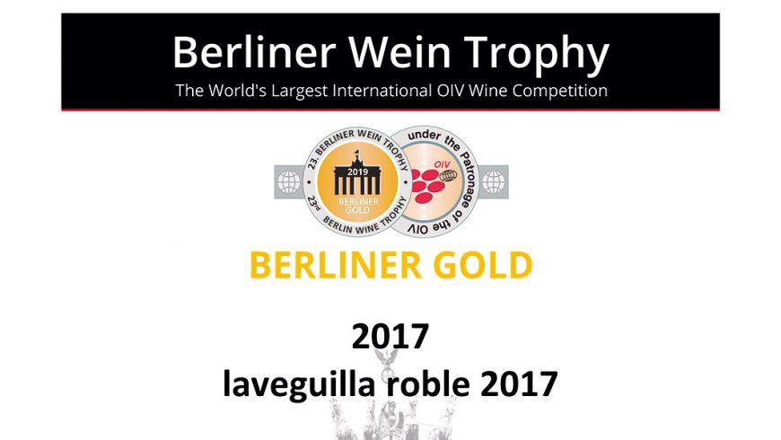 Berliner Gold para La Veguilla Roble 2017