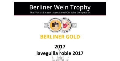 Berliner Gold para La Veguilla Roble 2017